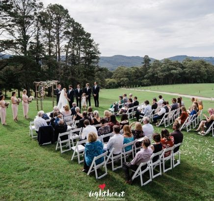 Chapel-Hill-Wedding-lawn ceremony